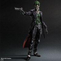 Play Arts Kai Figure Bat Man Joker Figure Bat-man Jack Napier Arkham Origins The Joker 25cm Action Figure Doll Toys Kids Gift