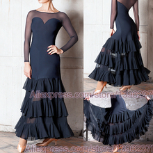 社交ダンス競技ドレス女性 2020 新デザイン格安フラメンコスカート高品質エレガントな標準社交ドレス