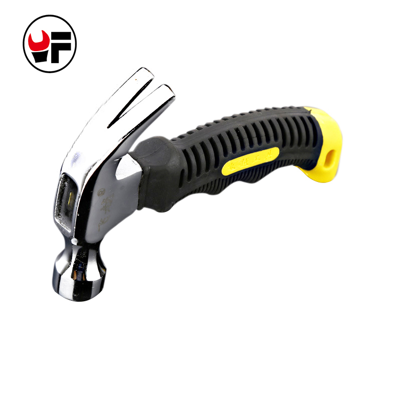 Mini Claw Hammers 150mm Car Escape Hammer High Carbon Steel Woodworking Hand Tools Vehicle Emergency Tool DAE001