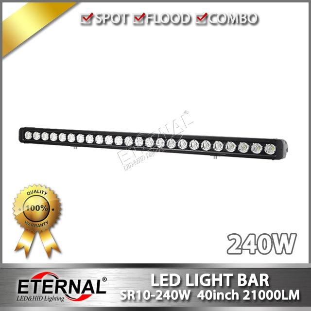 40in 240W light bar high power rubicon 4x4 racing wrangler off-road ATV UTV SUV 4WD truck trailer tractor LED light bar