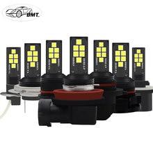 BMT Car LED Fog Lamp H1 H3 H7 H8 H11 H16 LED HB3 9005 HB4 9006 P13W PSX26W PSX24W LED Bulbs H27W 800 881 h27w2 h27w/2 Auto Light