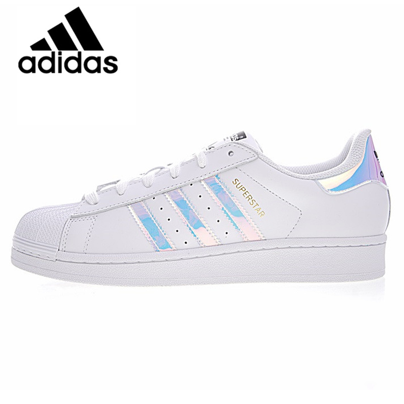66a166ce5a7 Adidas Super Star Men Women Skateboarding Shoes Outdoor Sports White Flat  Breathable 2019 Athletic Brand Designer