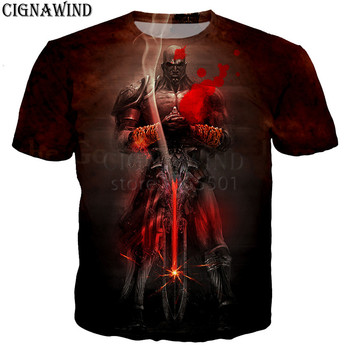 God of War 3D printed t-shirts unisex