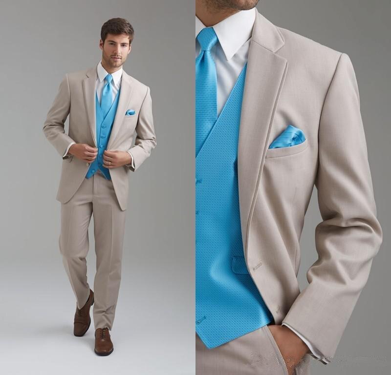 Custom made linen suits men Fashion Suit Men Wedding Suits Groom ...