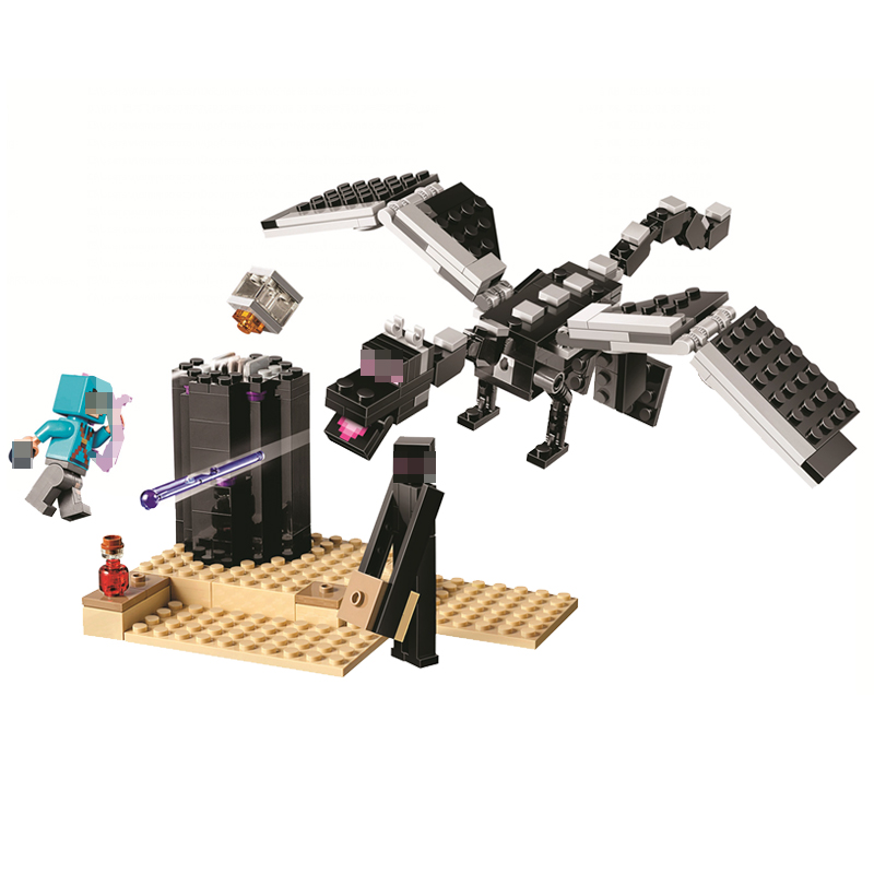 New My World The End Battle Pirate Ship Building Blocks Compatible Legoing Minecrafted Aminal Alex Action Figures Brick Kid ToysNew My World The End Battle Pirate Ship Building Blocks Compatible Legoing Minecrafted Aminal Alex Action Figures Brick Kid Toys