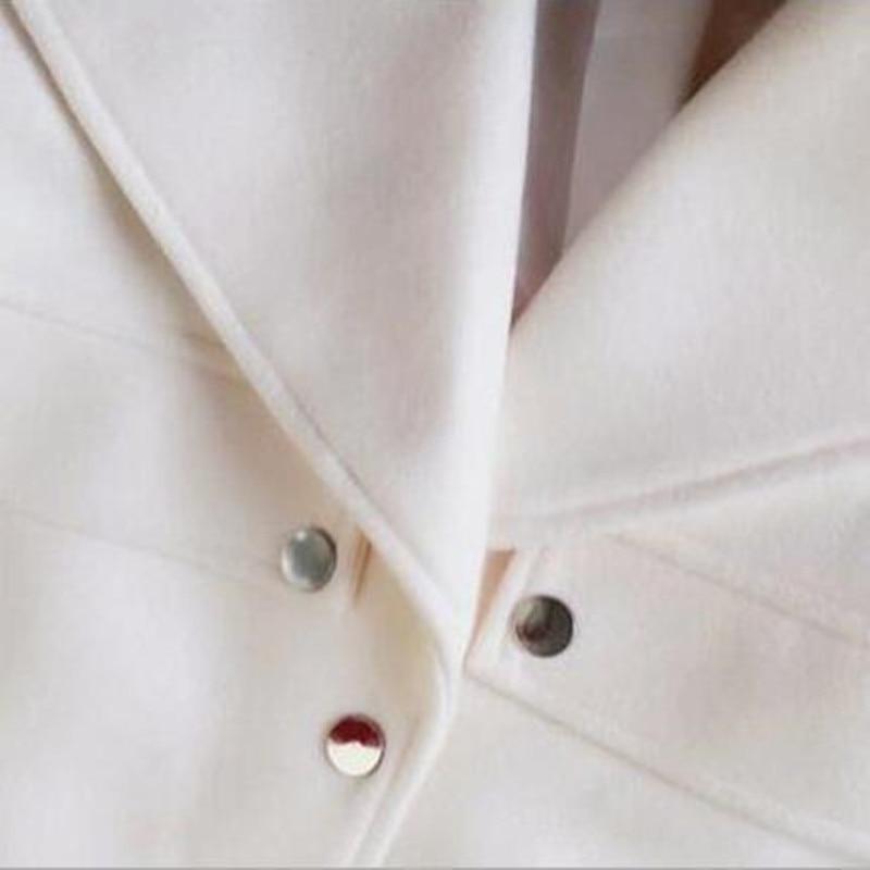 Tweed Automne V Top Costume Printemps col De Nouvelle 2017 Tempérament Femelle Coton Gland Laine Dames Arrivée Élégant Qualité 54vZnTqTx