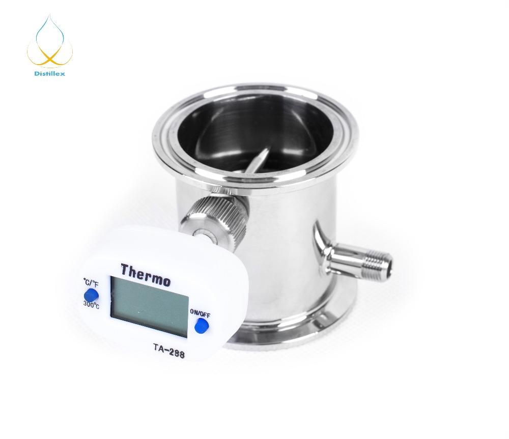 1.5 OD50.5mm Retificação módulo, Refluxo, coluna de Destilação, De Aço Sanitária 304