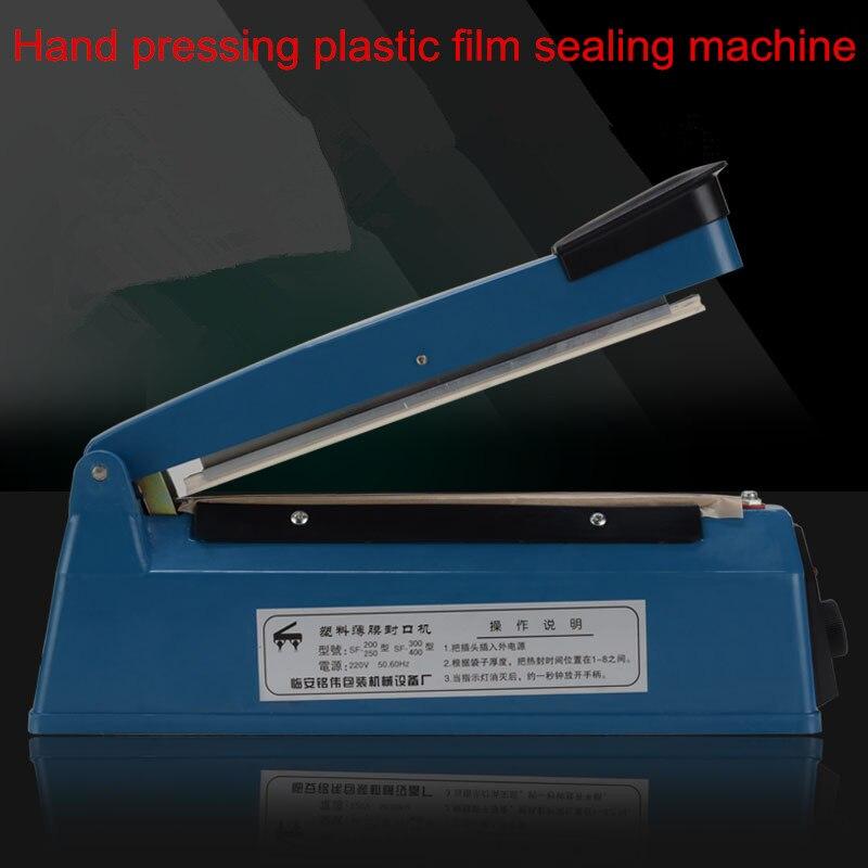 ФОТО hand hold plastic sealing machine vacuum food sealer film bags electric packing machine tools heat hand impulse sealer
