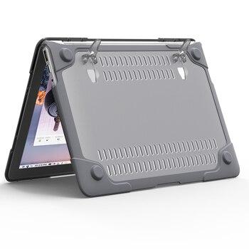 RYGOU Para Macbook Air 13 11 Slim Cubierta De Goma Para Libro De Mac Air 11,6 De 13,3 Pulgadas [pesado] Funda Plegable Para Portátil