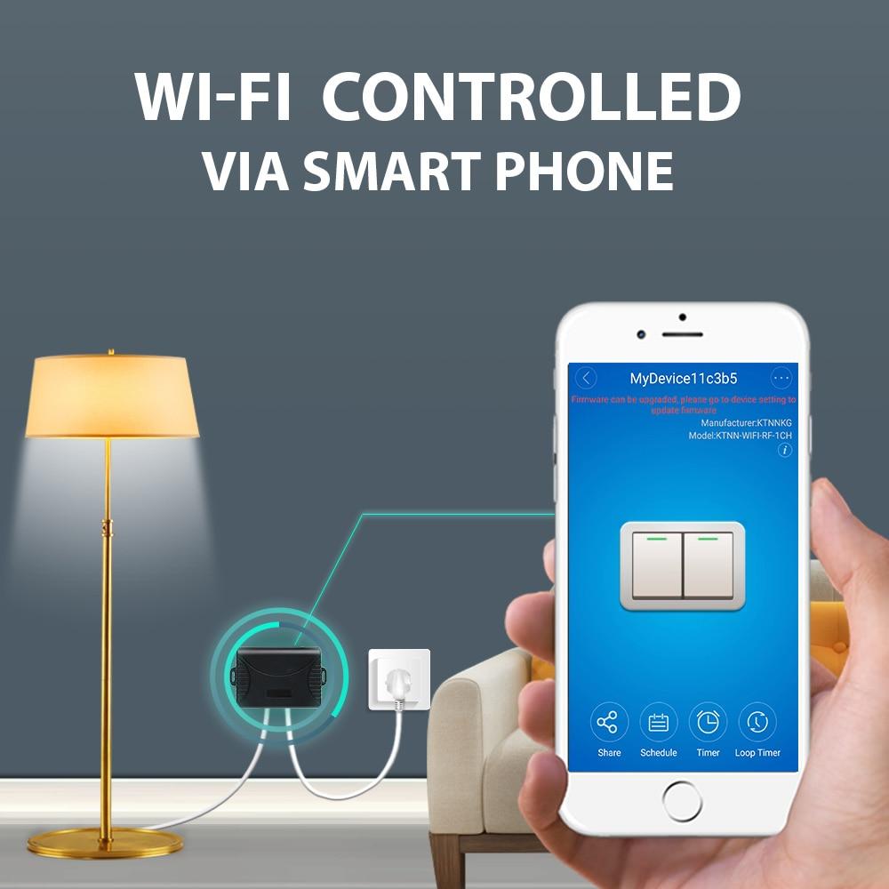 2CH Wifi relejni prekidač AC90V-250V 10A i AC / DC 7-36V 433 MHz - Pametna elektronika - Foto 3