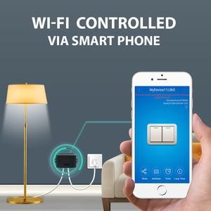 Image 3 - KTNNKG Módulo de automatización del hogar, interruptor Wifi de 433 MHz, 10A, 2 canales, receptor inalámbrico y controles remoto RF Ev5127 433 MHz