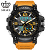 SMAEL Brand Fashion Business Digital Watch Electronic Casual Sports Wristwatch Analog Military Dual Display Quartz Clock