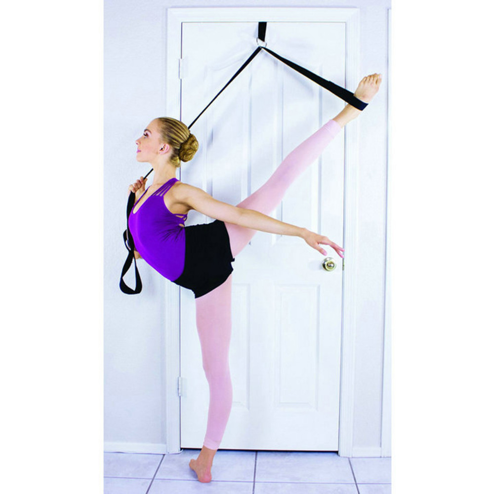 Daddy chen Resistance Bands Ballet Stretch Band for Total Flexibility Dance Gymnastics Training Foot Stretch Ballet Soft Elastic