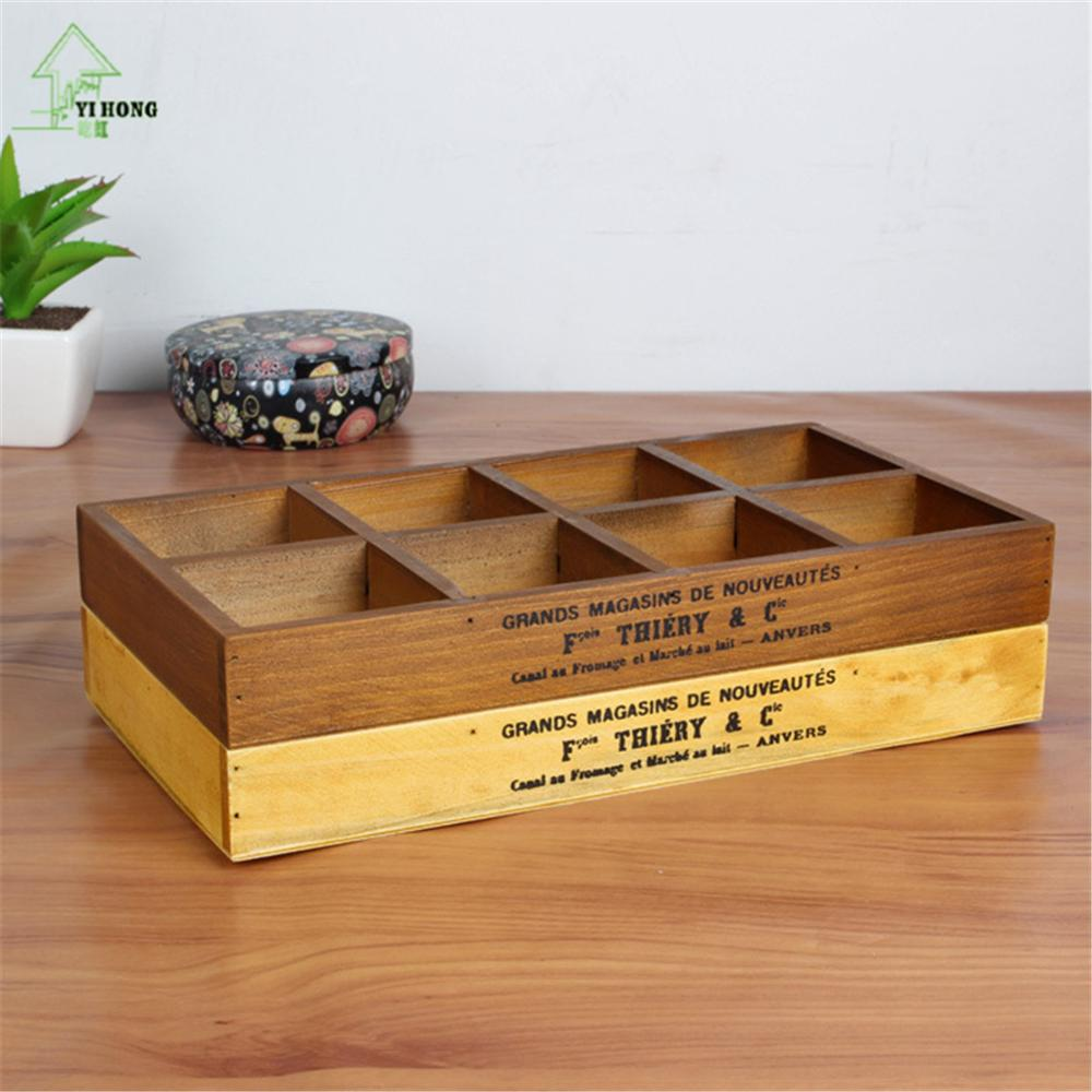 Yi Hong Jewelry Case Wooden Storage Box Wooden Organizer
