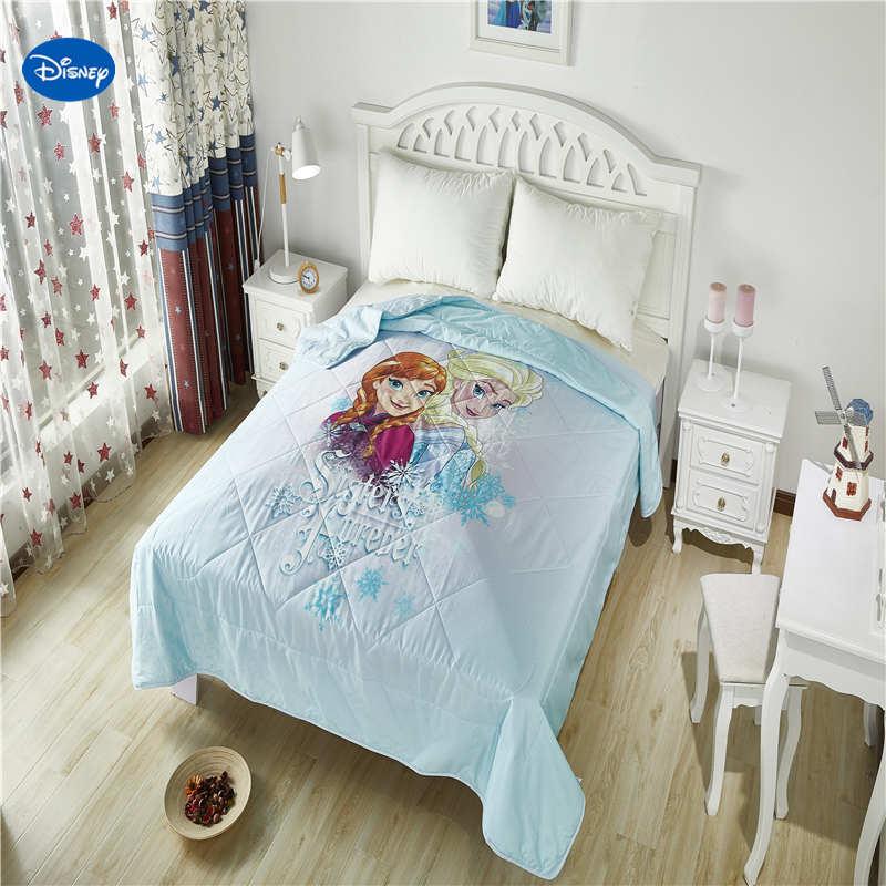 Cheap Bedroom Sets Kids Elsa From Frozen For Girls Toddler: Disney Frozen Elsa And Anna Quilts Summer Comforter