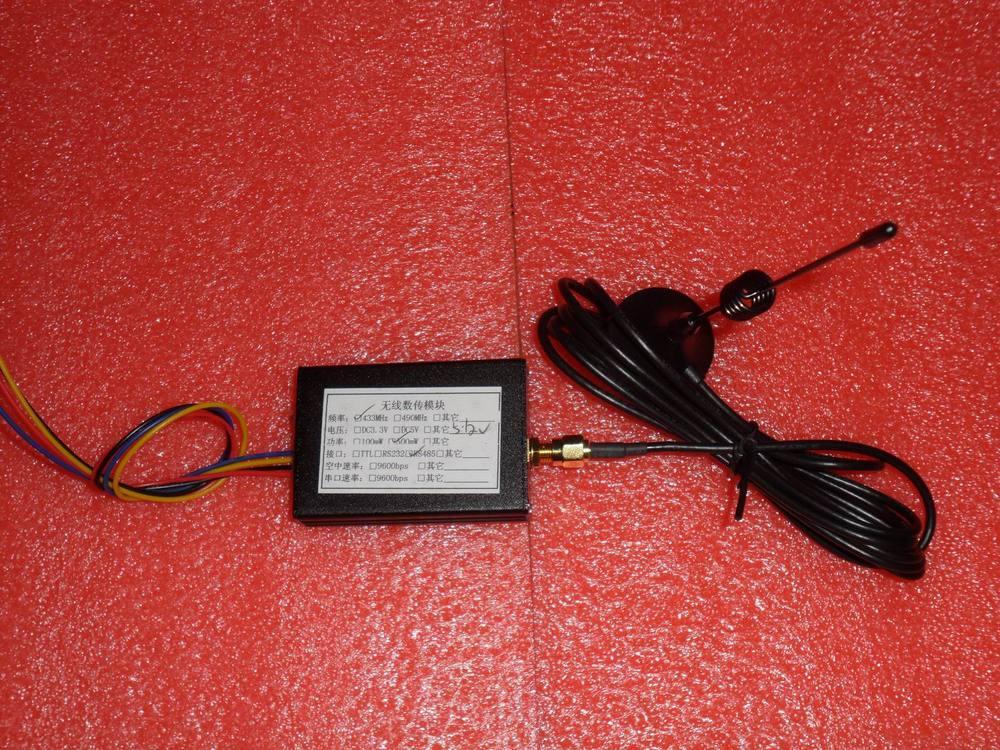 433M high power RS485/232 interface wireless module digital radio SI4432 chip433M high power RS485/232 interface wireless module digital radio SI4432 chip