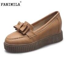 Новые Моды для Женщин Боути Slip-on Платформы Обувь Женская Мода Квартиры Повседневная Обувь для Девочек Женщина Sapato женщина для Размер 33-43