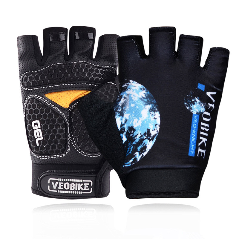 Veobike Cycling Gloves Men Women MTB Road Bicycle Gloves Half Finger Pro Gel Padded DH Bike Gloves Guantes Luvas Ciclismo