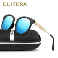 ELITERA Fashion Polarized Women Men Sunglasses Brand Designer Cat Eye Sun Glasses Accessories Driving Goggles Oculos