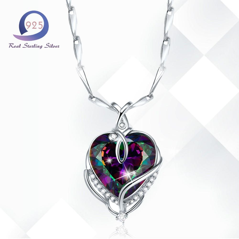 Merthus Trendy 925 Sterling Silber Chian Halskette Mystic - Edlen Schmuck - Foto 1