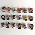 American baseball, rugby player 100pcs/lot sport figures 2.5cm random mixed Action Figure Collection Toy Doll