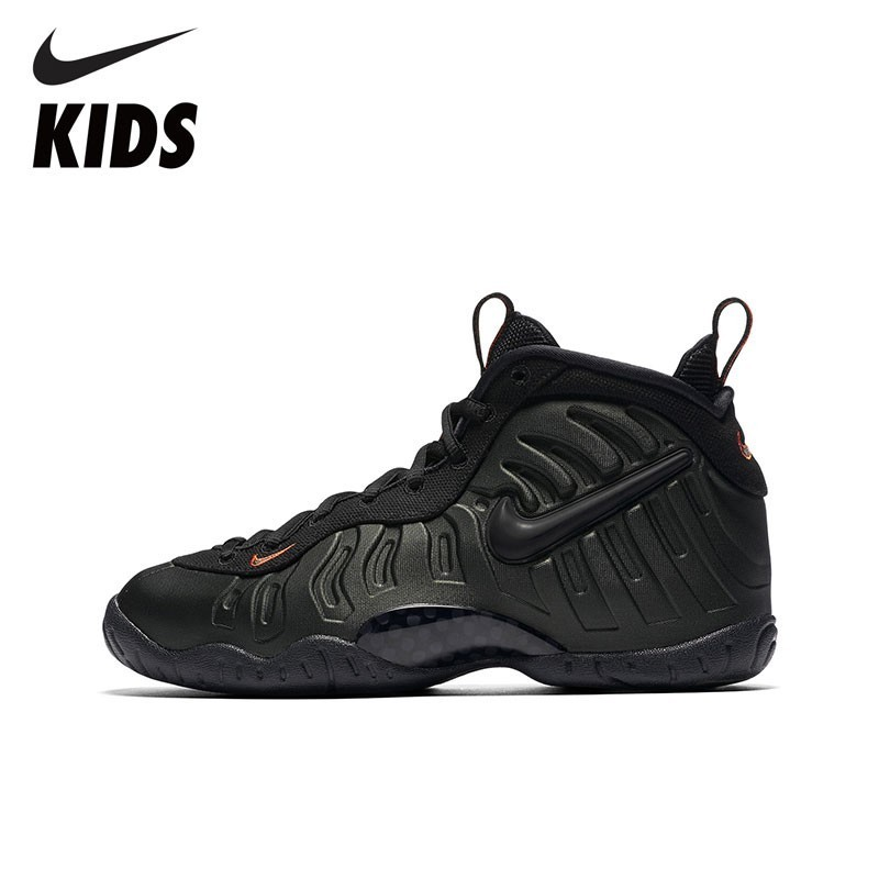 Nike Official NIKE LITTLE POSITE PRO Toddler Kids Running Shoes Breathable Sneakers 644792