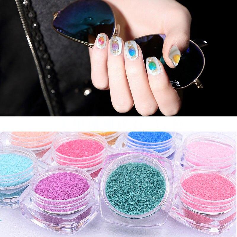 New Nail Art Glitter Nail Coral Dust Manicure Tool Kit Acrylic Gem