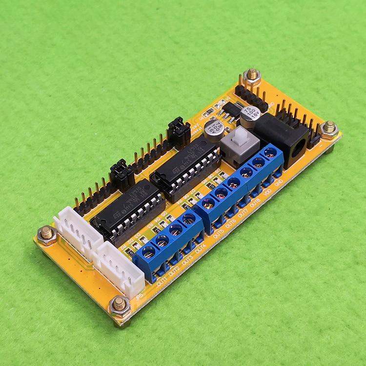 Модуль L293D/4 модуля привода двигателя постоянного тока/2 шага/приводной модуль для автомобильного двигателя 4WD
