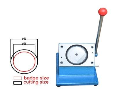 Insigne de 58mm faisant le coupeur de cercleInsigne de 58mm faisant le coupeur de cercle