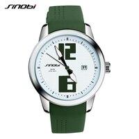 SINOBI New Fashion Silicone Women Quartz Watch Casual Wirstwatch Colorful Style Women Dress Hours Reloj De