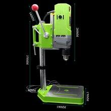 Мини-сверлильный станок сверлильный пресс 220 В 710 Вт скамья маленькая электрическая сверлильная машина Рабочая скамья DIY инструмент
