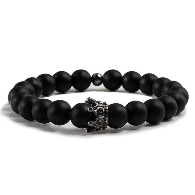 Bracelet Homme Onyx