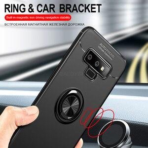 Image 5 - Luxury Bracket Shockproof Case For Samsung Galaxy S8 S9 S10 PLus S10E Full Cover A40 A50 A70 A10 Note 8 9 10 Soft Silicone Cases
