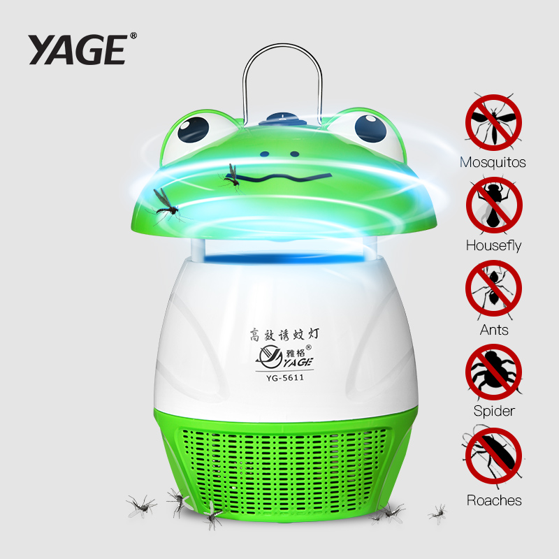 YAGE Mosquito Killer Lamps Outdoor Light Garden Supplies Pest Control LED Bug Zapper Fly Lamp Trap Wasp Pest Frog Modeling 5611 rat catcher spring cage new 1 pieces trap outdoor humane live indoor animal rodent pest control mice cage garden home house