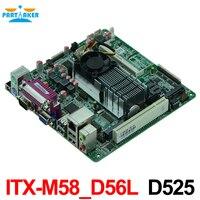 ITX M58_D56L 6*COM LVDS 18bits 2* VGA Mini Itx industrial motherboard