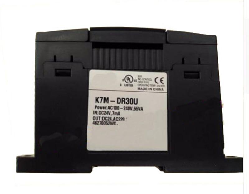 все цены на K7M-DR30U relay PLC 8 DC input 12 relay output 85-264VAC онлайн