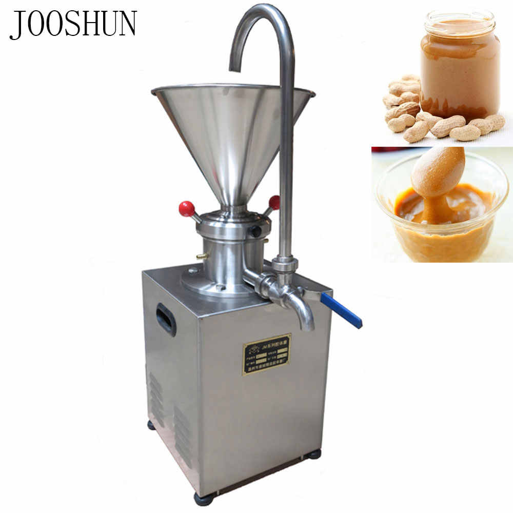 Top quality soak almond, soy sauce, jam, chili sauce chocolate, sesame paste peanut butter stainless steel colloid mill machine