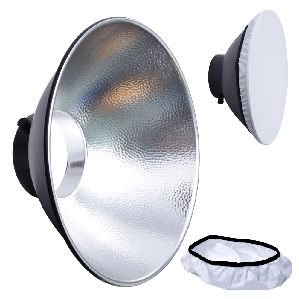 Jinbei M30 70 Degree Magnum Reflector with Diffuser for Mars 3 TTL DII EII Outdoor Flash
