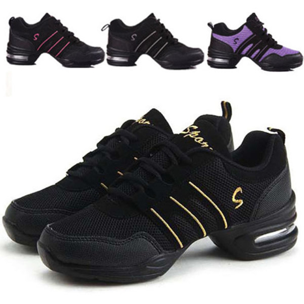 Women Stylish Athletic Sneakers Comfy Modern Jazz Hip Hop Dance Running Shoes