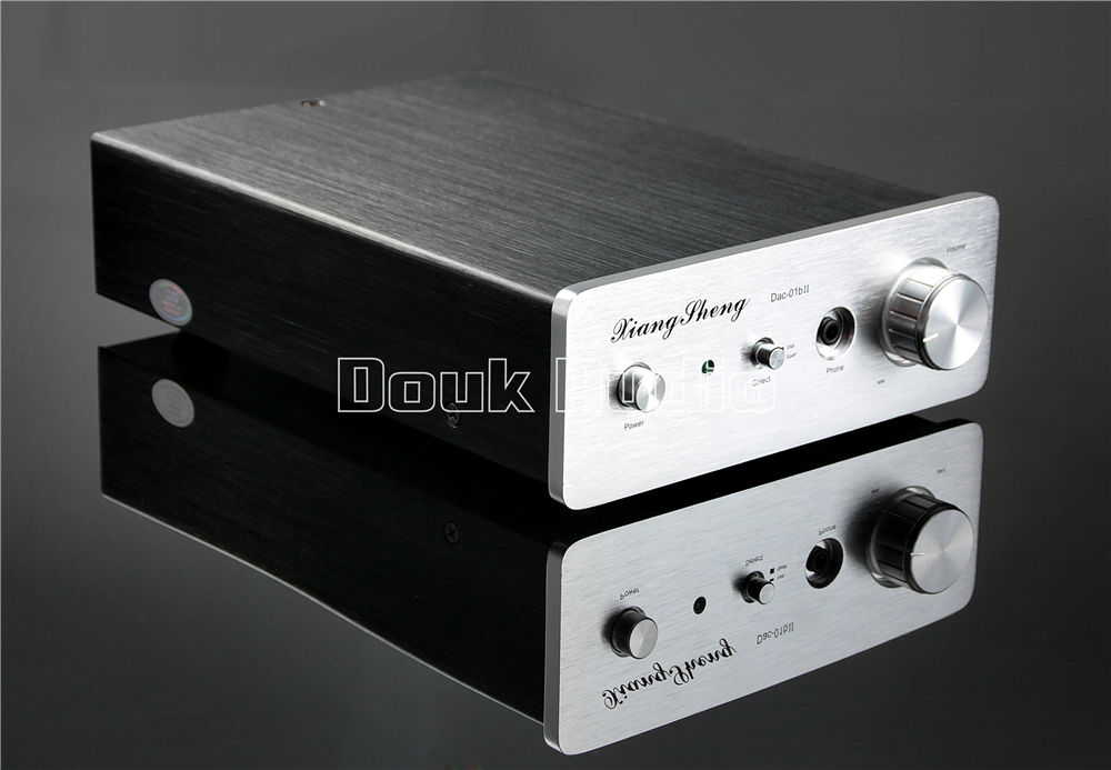 2018 Latest Nobsound Mini USB DAC Xiangsheng DAC-01B Audio Decoder Stereo D/A Converter Headphone HiFi Pre-Amplifier music hall xiangsheng dac 01a xmos u8 usb dac tube stereo d a converter headphone amplifier