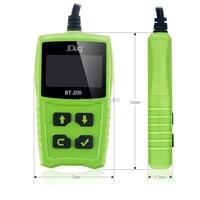 Original JDiag BT100 Battery Tester 2016 BT 100 LCD Display Electrical System Circuit Diagnostic Support 12V