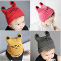 2016 Direct Selling Sale Animal Unisex Fitted Fotografia Gorras Infant Children Hats Baby Cotton Hat Child Warm For Knitted