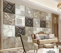 Modern Fashion 3D Stereoscopic Wallpaper Soft Marble Texture Desktop Wallpaper 3D Living Room Bedroom Wallpaper