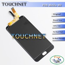 Best Quality LCD Display Screen + Digitizer Touch Screen Replacement For Mezu M2 Note Smart Phone LCD With Free Tools