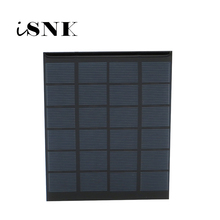 6V 333mA 2Watt 2W Solar Panel Standard Epoxy Polycrystalline Silicon DIY Battery Power Charge Module Mini Solar Cell toy