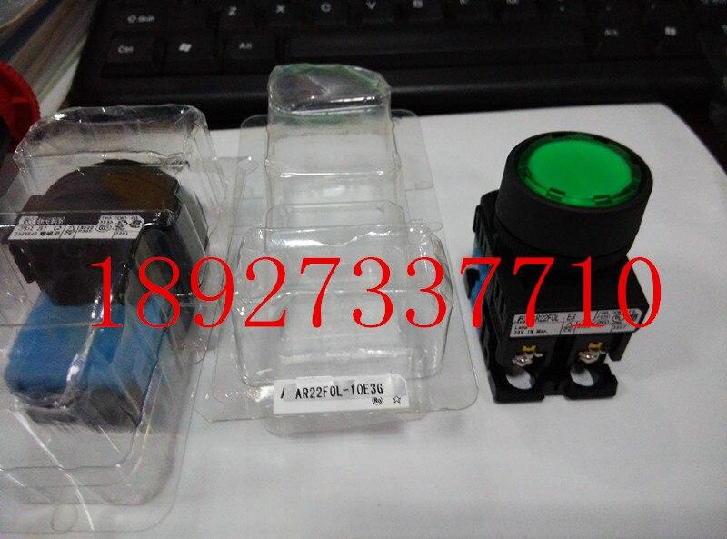 [ZOB] Supply of new original authentic Fuji button switch AR22F0V-10E3G  --5PCS/LOT