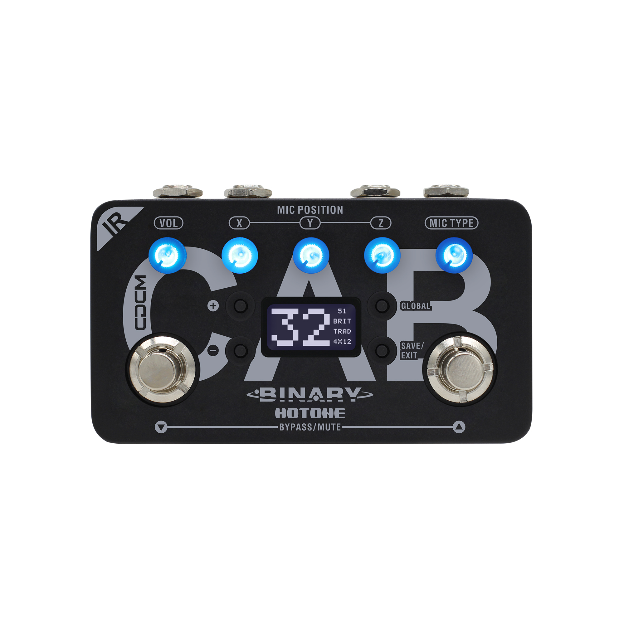 Hotone Omni IR Impulse Response Cabinet Simulator Guitar Pedal TPOMP6