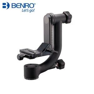 Benro GH2 профессиональные шарнирные головки GH-2 алюминиевые шарнирные головки для тяжелых телеобъективов штатив для камеры