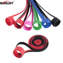 Smokjoy silicon Lanyard Electronic Cigarette for Ego eovd  kit Neck Sling colorful Accessories with String Necklace Ring 1Pc