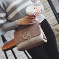 Women Messenger Bags Female Shoulder Bag Woman Leather Bag  Flap Cover Sequined Paperclip Casual Bolsos Mujer Promotion